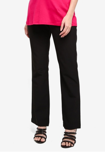 Envie De Fraise black Maternity Classicdroit Pants EFE73AA212AD70GS_1