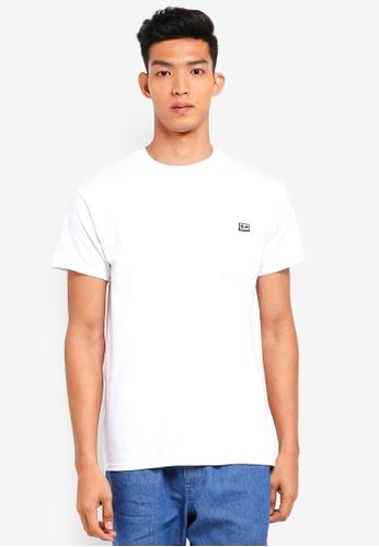OBEY 白色 口袋長袖T恤 B1D97AA428DE8CGS_1