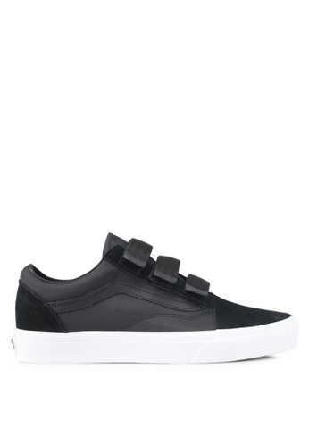 VANS black Old Skool V Surplus Nylon Sneakers VA142SH0SWNKMY_1