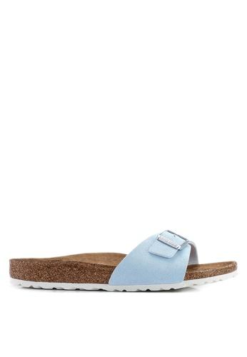 Birkenstock blue Madrid Sunkissed Sandals CC7F6SH66A12E2GS_1