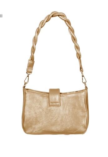 Verchini grey Verchini Twist Top Handle Bag 2A487AC0268AD5GS_1