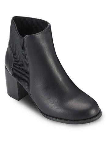 Bristesprit outlet hkol 彈性粗跟踝靴, 女鞋, 鞋
