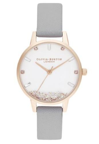 Olivia Burton grey and white Olivia Burton The Wishing Grey Women's Watch (OB16SG08) 667D0AC614EF61GS_1
