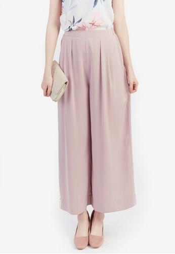 Yoco pink Wide-Leg Culottes B6752AA103E232GS_1