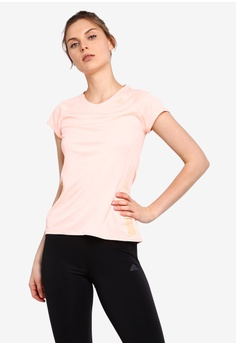 5a62412ac68 adidas pink adidas performance 25/7 tee chill w D8E1FAA63FA52AGS_1