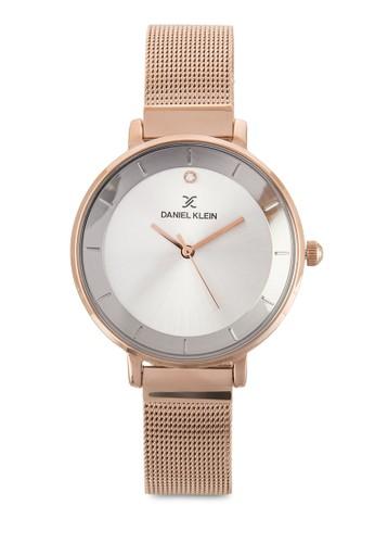 36mm DKzalora 台灣11164-4 簡約網格圓錶, 錶類, 飾品配件