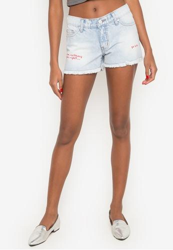 4eb3e01224f60 Shop NEXT Printed Denim Shorts Online on ZALORA Philippines