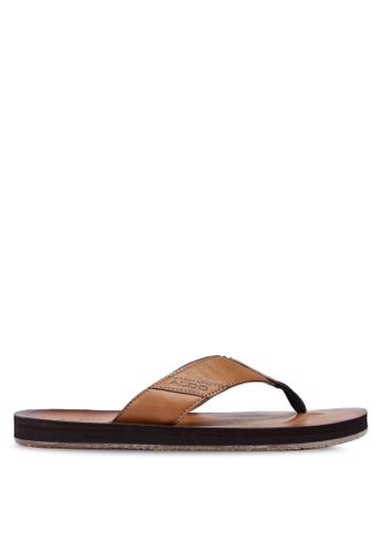 ALDO brown Thymel Sandals 29214SHBAC60B8GS_1