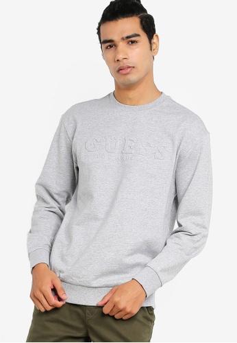 cdf5cfb6 Embossed Logo Pullover Sweatshirt