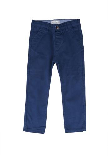 LC Waikiki navy Baby Boy's Gabardine Chino Trousers 32CF4KA6C5A336GS_1