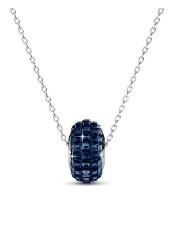 Her Jewellery blue Her Jewellery Disco Ball Pendant (Dark Blue) with Premium Grade Crystals from Austria B3149AC6F6C750GS_1