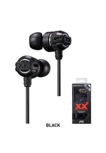 JVC black JVC HA-FX33XM Xtreme Xplosive Earphones -BLACK A03B8ES8F4532AGS_1