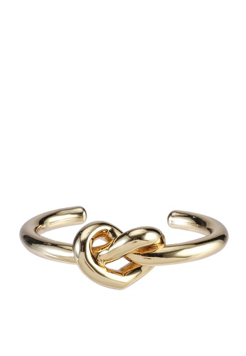 kate spade new york gold Loves Me Knot Statement Cuff (cv) 8B373ACBC8C7DFGS_1