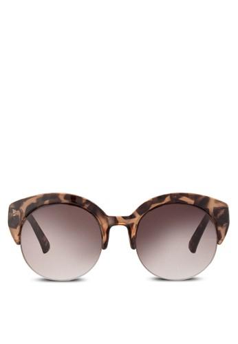 JP0180 圓形半粗框太陽眼鏡, 飾品配件, 飾品京站 esprit配件