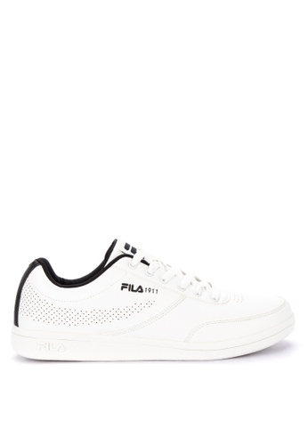 Fila white Fc Ponce Sneakers 84BFCSH9822A58GS_1