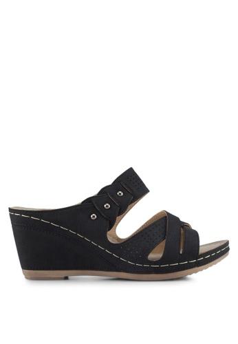 Louis Cuppers black Louis Cuppers Sandals 364B3SH6D511EFGS_1
