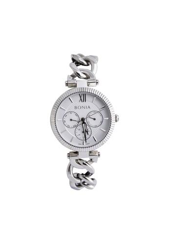 BONIA silver Bonia B10431-2313 - Jam Tangan Analog Wanita - Silver 603C2ACE4F259FGS_1