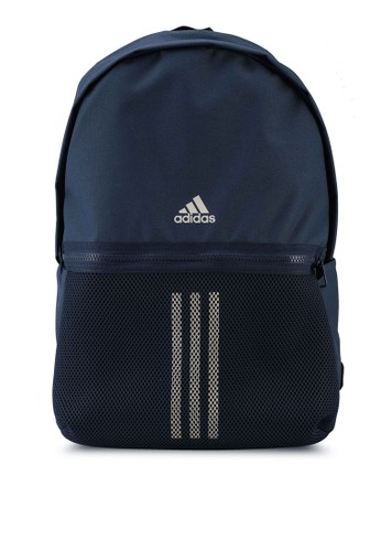 ADIDAS navy classic 3-stripes backpack 8CEFCAC89F8DC0GS_1