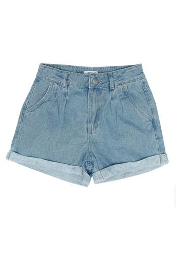 FOX Kids & Baby blue Kids Girl Denim Shorts 25D32KA5648A12GS_1
