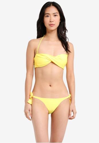 Yshey yellow Alice Summer Moon Bikini Set YS681US0SRA9MY_1