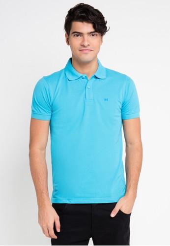 Hassenda blue Short Sleeve HA130AA0VPEZID_1