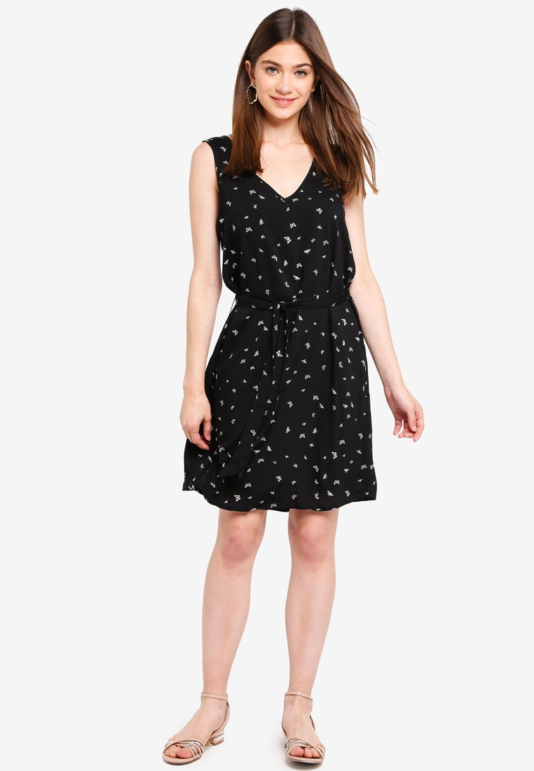 Short YONG Butterfly Black Barbera DE Dress JACQUELINE pwYqgxIwd0