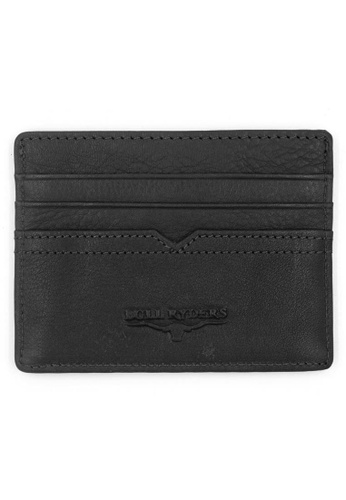 midzone black BULL RYDERS Genuine Leather Card Holder BBE4CACECAC272GS_1
