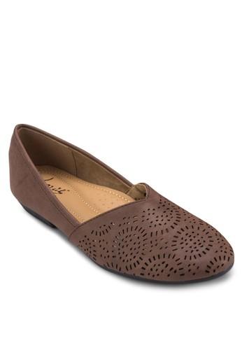 雕花娃娃鞋, 女esprit mongkok鞋, 芭蕾平底鞋