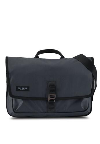 TimBuk2 grey Transit Briefcase Messenger Bag 5D533AC251777FGS_1