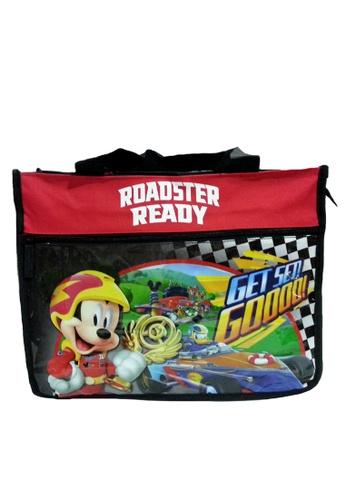 Disney Mickey black Disney Mickey Mouse Roaster Race Tuition Bag 1562AKCA82AFEFGS_1