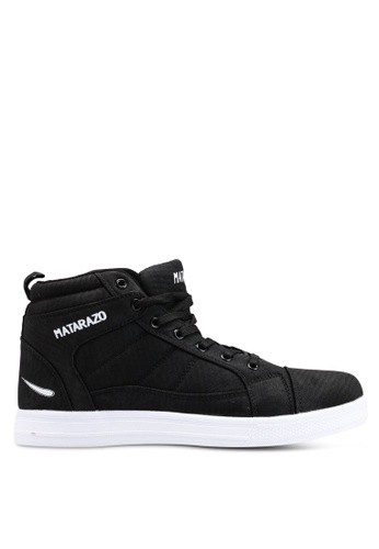 Rocklander black Matarazo Hi-Top Sneakers D75AESH2617328GS_1