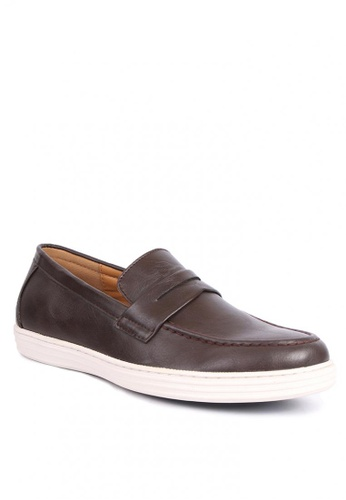 7soles brown Ramsey Men's Casual Shoes 924DASH76F0711GS_1