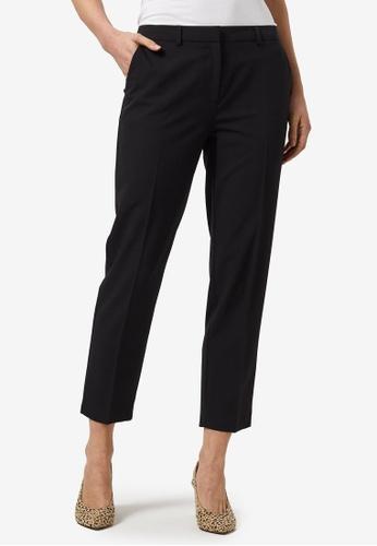 Dorothy Perkins black Black Ankle Grazer Trousers 05D66AA0DA6CEBGS_1