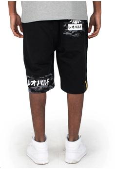 dc3a5723a219 Reoparudo RPD Camo Contrast Sweat Shorts (Black) S  84.90. Sizes M L