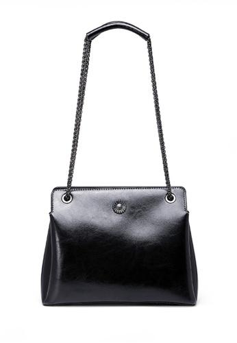 Twenty Eight Shoes black VANSA Fashion Chain Portable Crossbody Bag VBW-Cb6601 7D5F0ACDC210B8GS_1