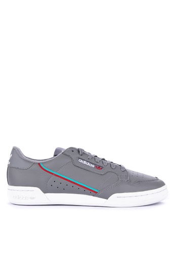 adidas grey adidas originals continental 80 DAB8ASH90CA37EGS_1