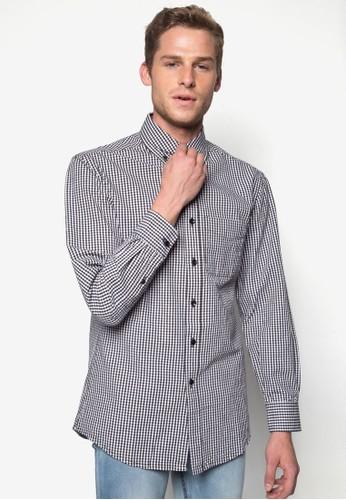 格紋長袖襯衫,esprit門市 服飾, 襯衫