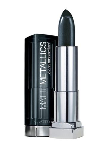 Maybelline grey Maybelline Color Sensational Matte Metallics - 50 Gunmetal B512CBE7F84B15GS_1