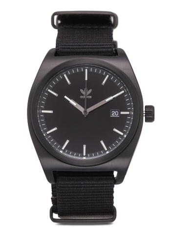 adidas black adidas originals Process W2 Watch D62F1AC77EFDB9GS_1