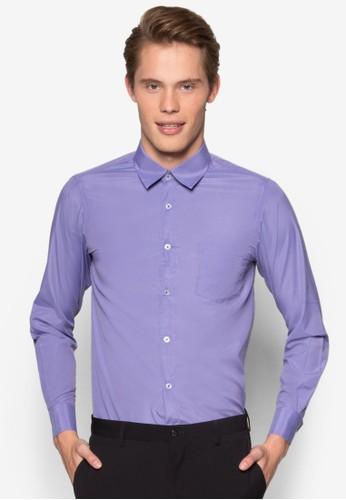 esprit 面試修身長袖襯衫, 服飾, 服飾