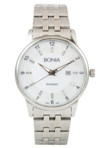 BONIA silver Bonia B10097-1155 - Jam Tangan Pria - Silver BO710AC0WSD8ID_1
