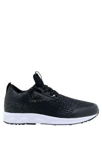 Precise black Precise Chester M Sepatu Pria - Hitam/Putih 41E07SH89B7CADGS_1