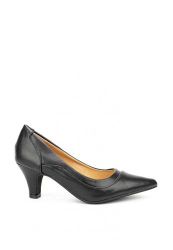 Cardam's Lifestyle black CLS 95655 Black Heel Pumps BC363SHC47BDD8GS_1