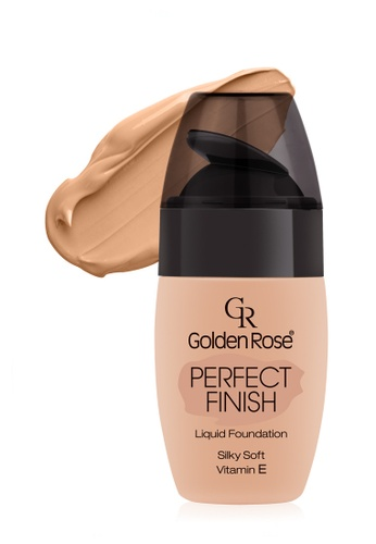 GOLDEN ROSE pink PERFECT FINISH LIQUID FOUNDATION - #53 GO743BE97FMCMY_1
