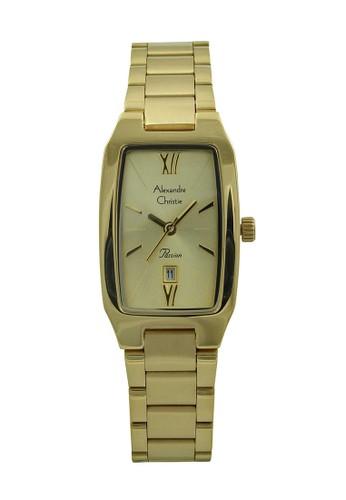 Alexandre Christie gold Alexandre Christie Jam Tangan Wanita - Gold - Stainless Steel - 2455 LDBGPIV 684AEACE18ED0BGS_1