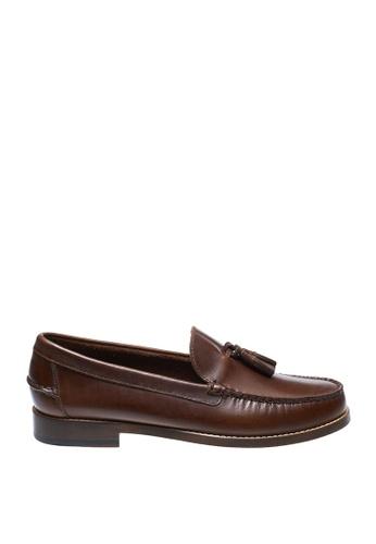 Sebago brown Mens Legacy Tassel Dress Casual 25FE4SH53266A6GS_1