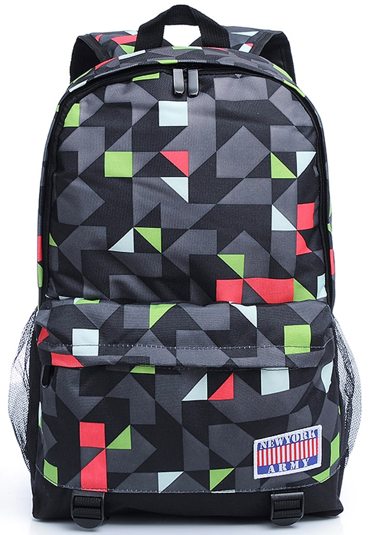 Newyork Army Geometric RGB Everyday Backpack