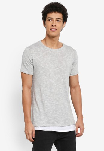 Factorie multi Shaded Mock Tail Tee 9F1E4AAE3E7B81GS_1