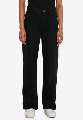 Noisy May black Amanda Wide Jeans DE218AA3C2C011GS_1