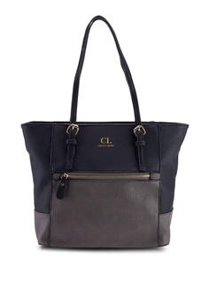 e6ac62f1d4c Carlton London black Color Block Tote Bag 57C20AC6537D6FGS_1